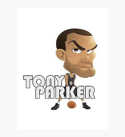 Tony Parker Photographic Print