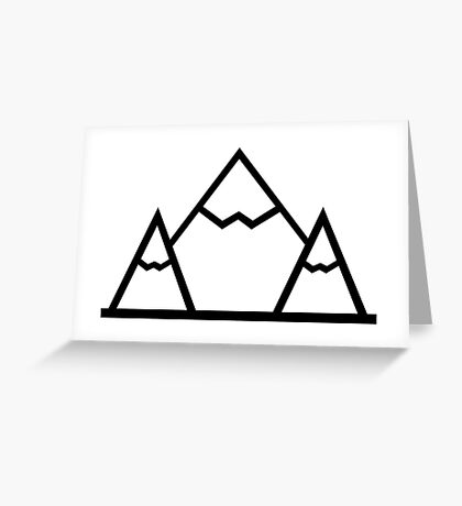 Mountains! Greeting Card