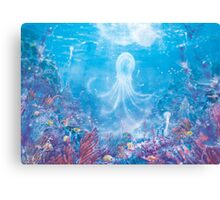 Jellyfish Sea (Only 50!) Canvas Print