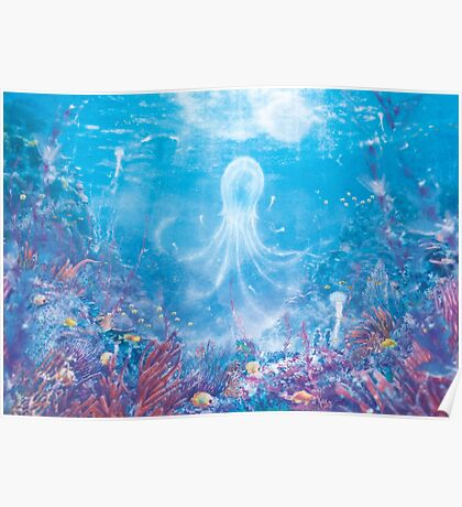 Jellyfish Sea (Only 50!) Poster
