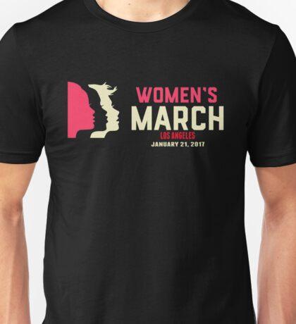 Women's March on Los Angeles Unisex T-Shirt