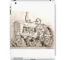 International Harvester tractor drawing iPad Case/Skin