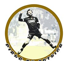 Adrea Pirlo Style - Juve Fan Soccer Player by artguy24