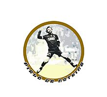 Adrea Pirlo Style - Juve Fan Soccer Player Photographic Print