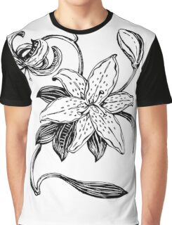 One simple lily flowers Graphic T-Shirt