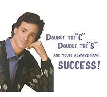 Danny Tanner teaches mnemonic devices! Photographic Print
