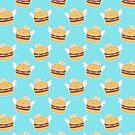 Angel Burger Pattern by SaradaBoru