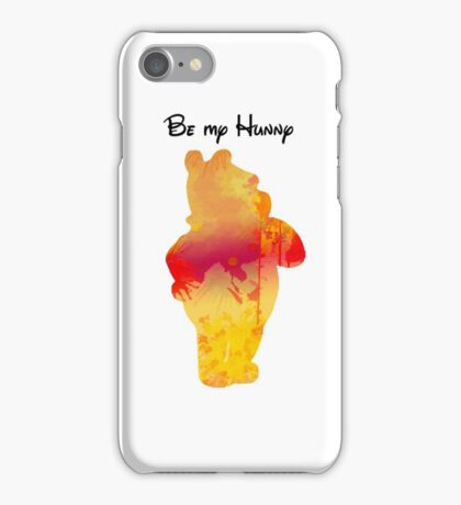 Be my Hunny Inspired Silhouette iPhone Case/Skin