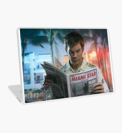 Michael Hall (DEXTER) Laptop Skin