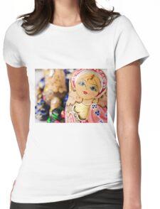 Babushka nesting dolls Womens Fitted T-Shirt