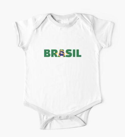 Brasil One Piece - Short Sleeve