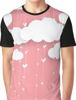 Raining Love Graphic T-Shirt