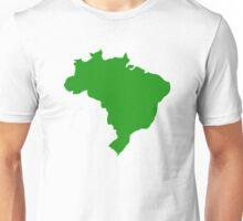 Brazil map Unisex T-Shirt