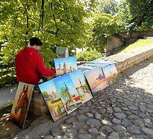 Painter by Kathleen Brant