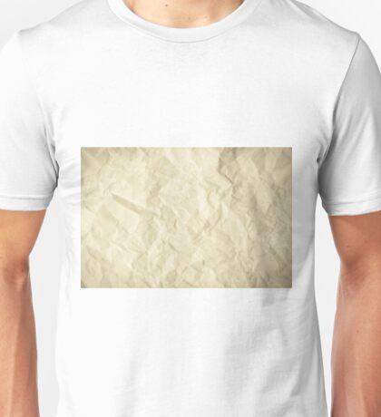 Grunge torn paper Unisex T-Shirt