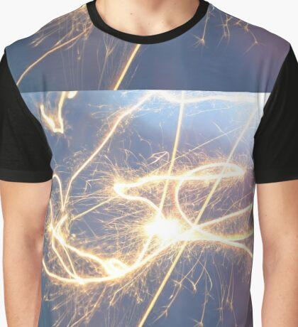 Lively Light Energy  Graphic T-Shirt
