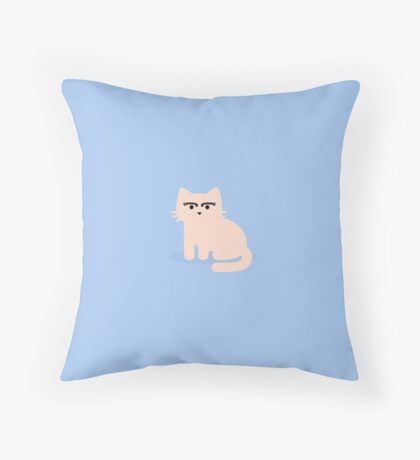 Terrible Peeper Throw Pillow