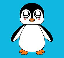 Adorable Penguin by Alaina Perry
