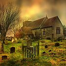 St Mary Capel-Le-Ferne  by Dave Godden