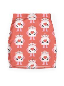 Love Robot Mini Skirt