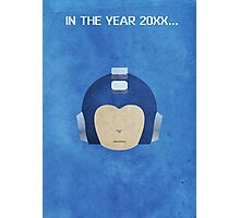 The Blue Bomber Photographic Print