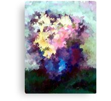 Flower Vase still life oil painting Canvas Print