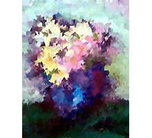 Flower Vase still life oil painting Photographic Print