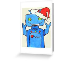 Robo Christmas!  Greeting Card