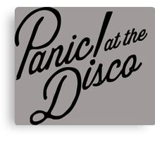 Panic At The disco Canvas Print
