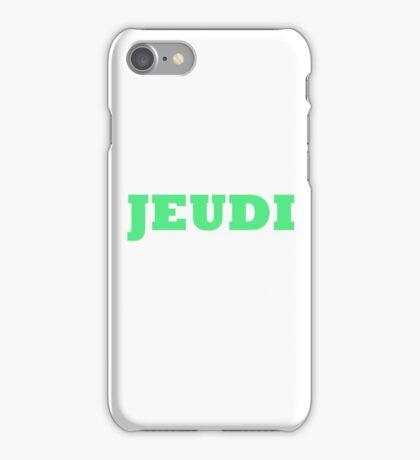 Jeudi iPhone Case/Skin