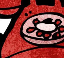 cartoon telephone Sticker