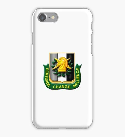 Psychological Operations (United States Army) iPhone Case/Skin