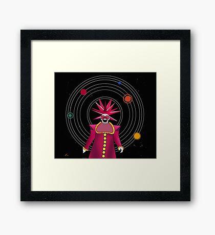minimal space  Framed Print