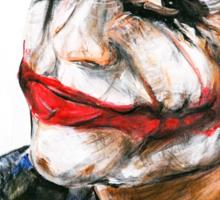 Portrait: Joker's Smile Sticker