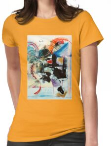 Transcendence ~ Abstract 92 Womens Fitted T-Shirt