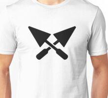 Mason crossed trowel Unisex T-Shirt