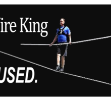 The Wire King Sticker