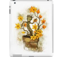 Orange Blossoms Baby Groot iPad Case/Skin