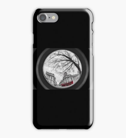 Westminster streets iPhone Case/Skin