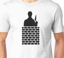 Mason brick wall Unisex T-Shirt