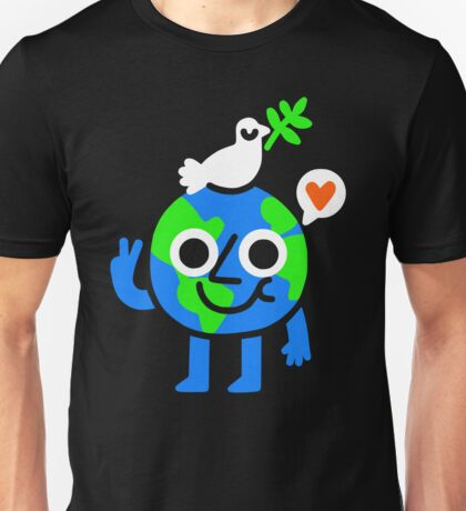 World Peace & Love Unisex T-Shirt