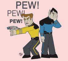 Pew! Pew! Jim Kids Tee