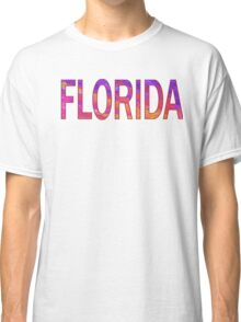 FLORIDA (Sunset Text) Classic T-Shirt