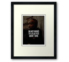 """2Pac """"In My Mind"""" Quote by Tumblr Framed Print"""