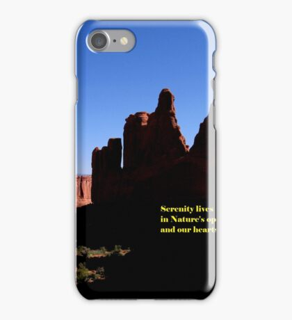 Serenity Lives iPhone Case/Skin
