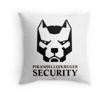 Pirandello/Kruger Security - Mirror's Edge Throw Pillow