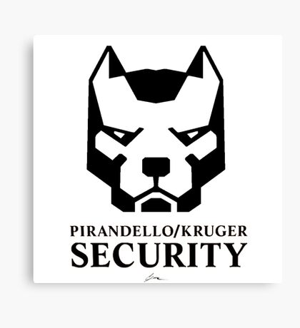 Pirandello/Kruger Security - Mirror's Edge Canvas Print