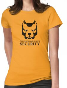 Pirandello/Kruger Security - Mirror's Edge Womens Fitted T-Shirt