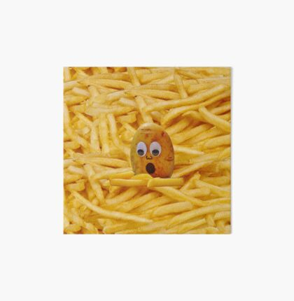 Mourning the French Fries Art Board