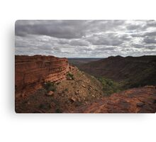 Kings Canyon Australia  Canvas Print